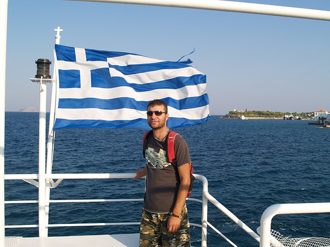 Le fondateur de Choice Greece John Karkalatos