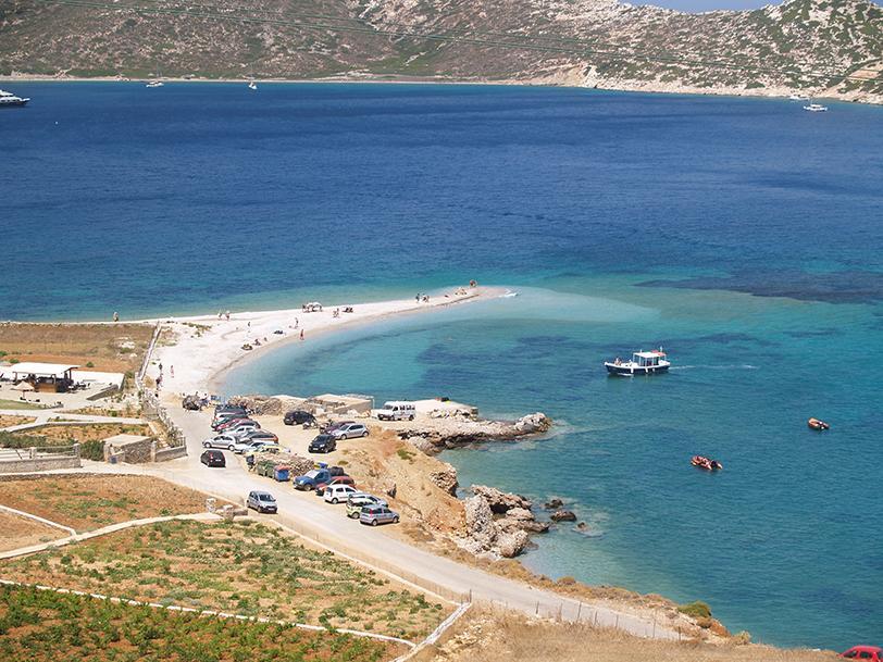 Plage Agios Pavlos, Amorgos