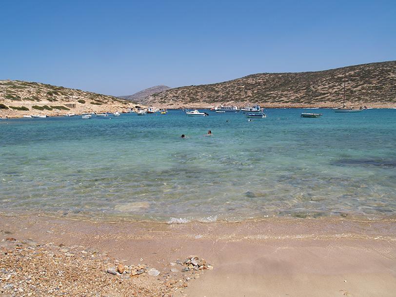 Plage Kalotaritissa, Amorgos