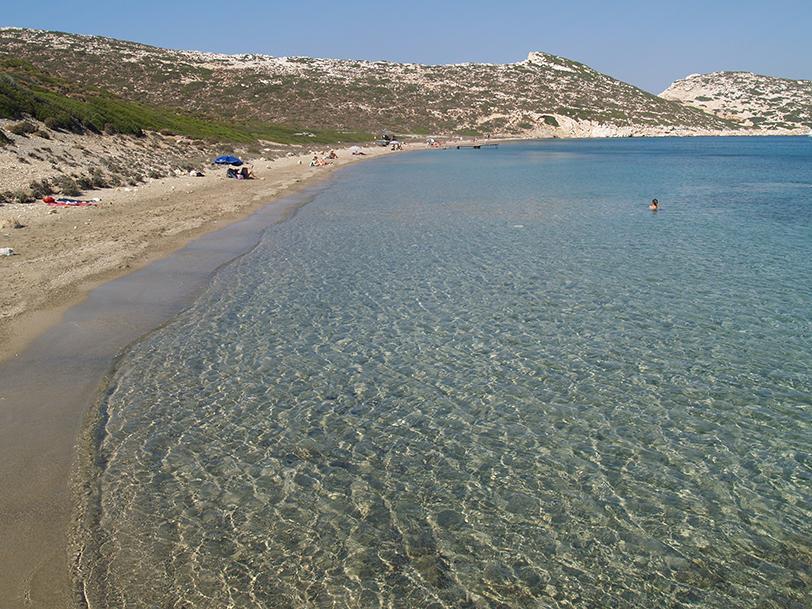 Plage Nikouria, Amorgos