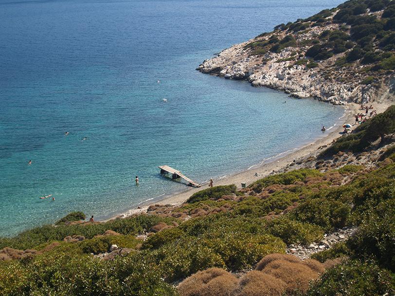 Small Nikouria beach, Amorgos