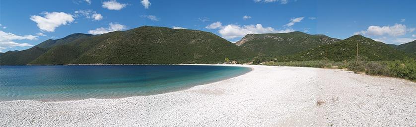 Πανόραμα παραλίας Φωκιανό